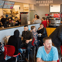 Tom and Chee franchise atmosphere