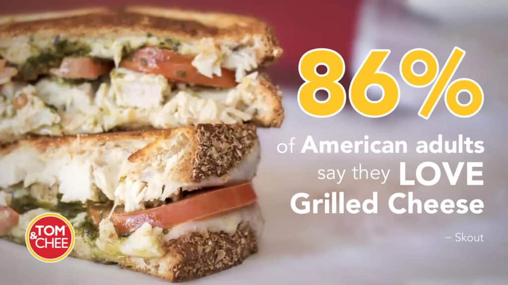 Tom & Chee franchise grilled cheese infographic