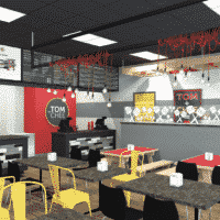 tom and chee grilled cheese franchise