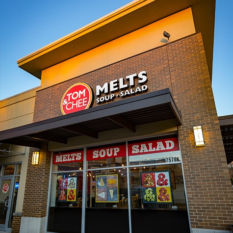 Tom & Chee - Melts, Soups & Salads