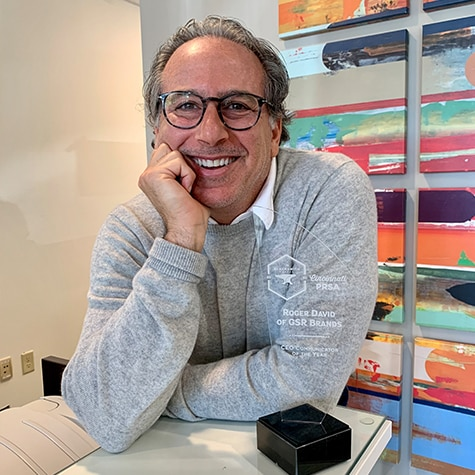Roger David named CEO Communicator of the Year
